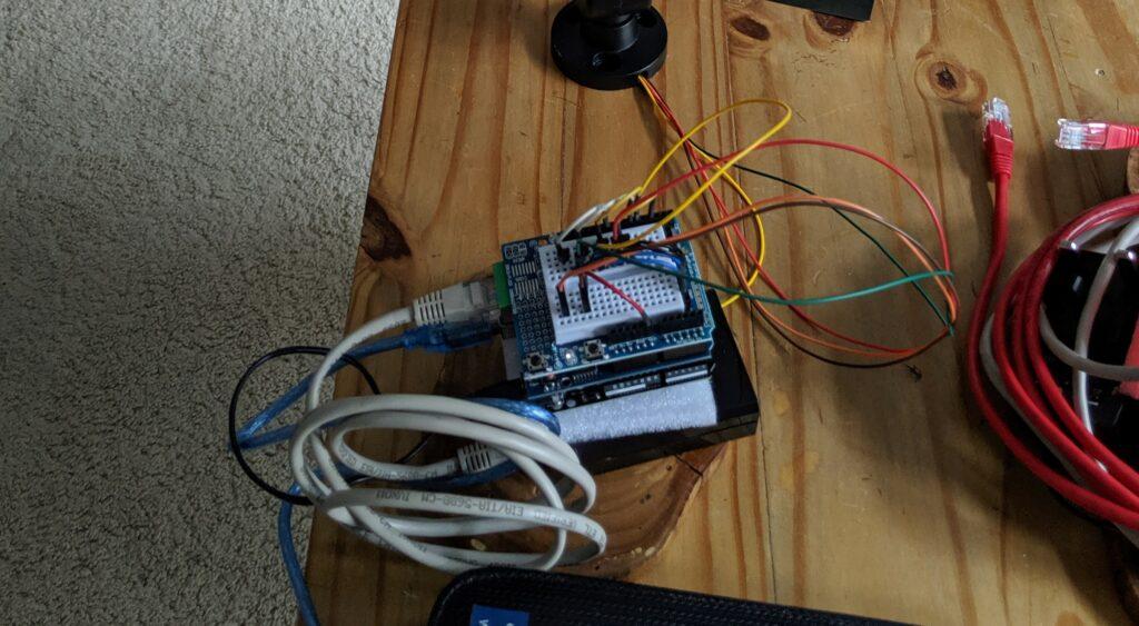 Photo of initial prototype