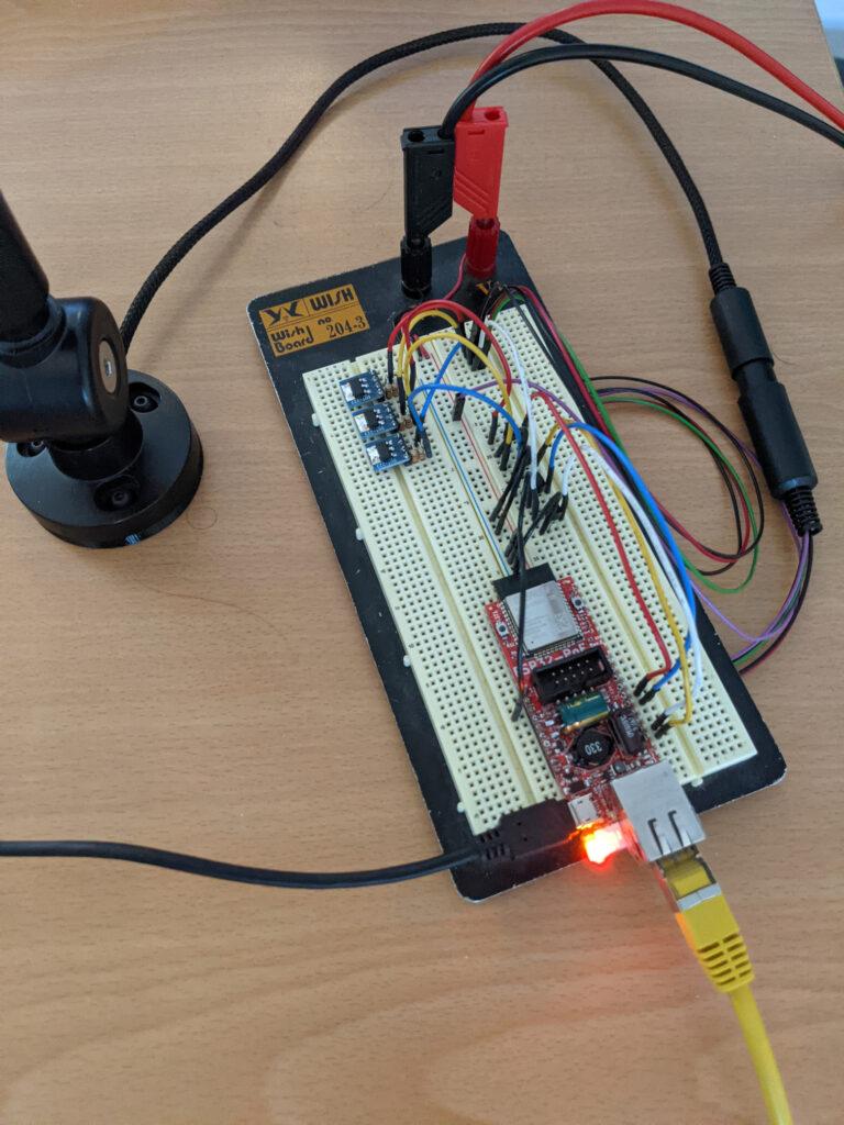 Photo of second prototype